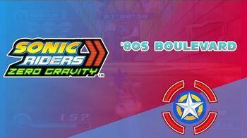 '80s Boulevard - Sonic Riders Zero Gravity