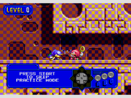 Chaotix Practice Stage