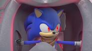 Evil Sonic suspicious