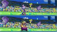 Mario & Sonic at the Rio 2016 Olympic Games - Blaze VS Wario Javelin Throw