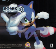 SA 3D Artwork SonicRare