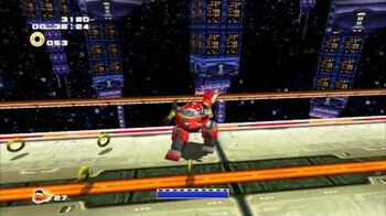 Sonic Adventure 2 (PS3) Cosmic Wall Mission 2 A Rank
