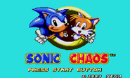 Sonic Chaos MS title