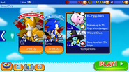 Sonic Runners screen 3