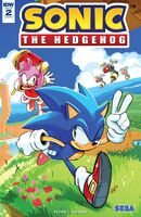 IDW Sonic the Hedgehog Issue 2