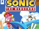 IDW Sonic the Hedgehog N° 002