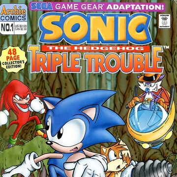 Archie Sonic The Hedgehog Triple Trouble Sonic News Network Fandom