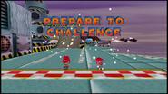 Sonic R Metal Knuckles Challenge