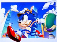 Sonic Screen Saver 1