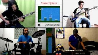Sonic The Hedgehog (Master System Ver.) - Jungle Zone (FreePlay)