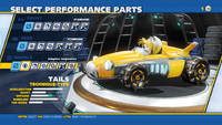 Tails Adaptive Suspension Wheels