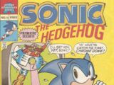 Archie Sonic the Hedgehog Issue ¼