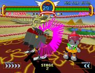 Pinkish Eggman Robot Move