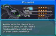 Potential en sonic free riders