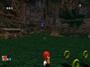 SA Knuckles vs Sonic DC 2