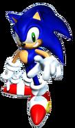 SA Sonic 3D art 3