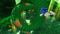 Silent Forest Zone - Sonic Lost World