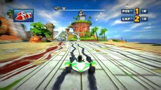 Sonic & SEGA All-Stars Racing Ocean Ruin
