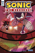 Sonic IDW 11 Cover B