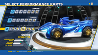 Sonic Legendary Monster Treads Wheels