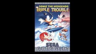 Sonic Triple Trouble Sunset Park Zone Act 3