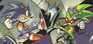 Sonic VS Scourge