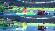 Mario & Sonic at the Rio 2016 Olympic Games - Luigi VS Daisy Javelin Throw