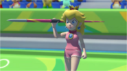 Mario & Sonic at the Rio 2016 Olympic Games - Peach Javelin Throw