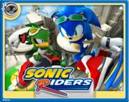 Sonic Rider Online Card