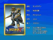 Sonic X karta 95
