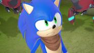 Sonic alone