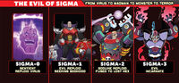Worlds Unite Sigma Appearances