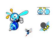 Buzz Bomber koncept SLW
