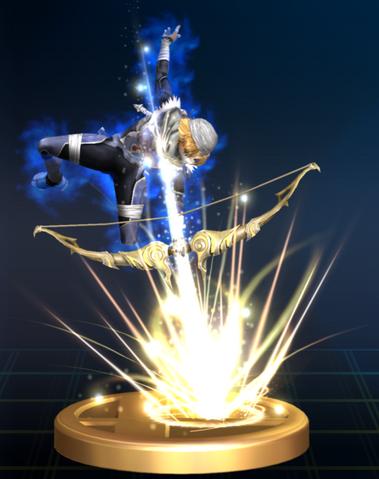File:Light Arrow (Sheik) - Brawl Trophy.png