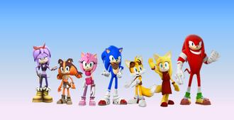 Sonic Boom TV Series Wallpaper
