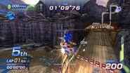Sonic en rocky ridge