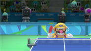 Mario & Sonic at the Rio 2016 Olympic Games - Wario Table Tennis