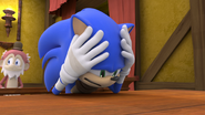 S1E17 Sonic distraught