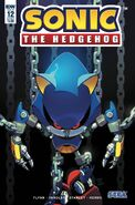 Sonic IDW Issue 12 Cover A