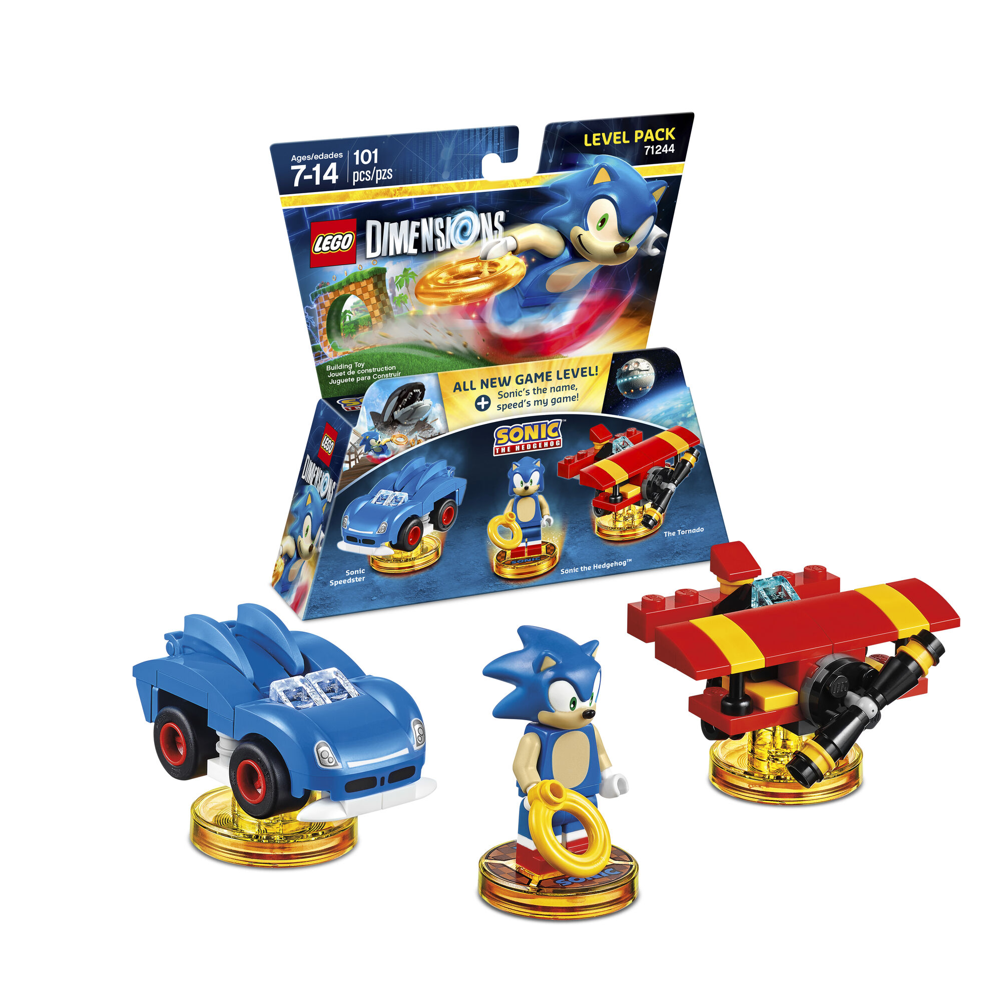 sonic the hedgehog level pack lego dimensions sonic news network
