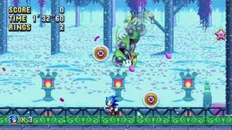 Sonic Mania Boss 10 - Heavy Shinobi