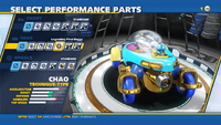 Chao Legendary Flexi Buggy Rear