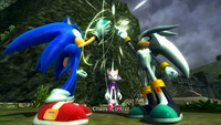 Chaos Control - Sonic y Silver
