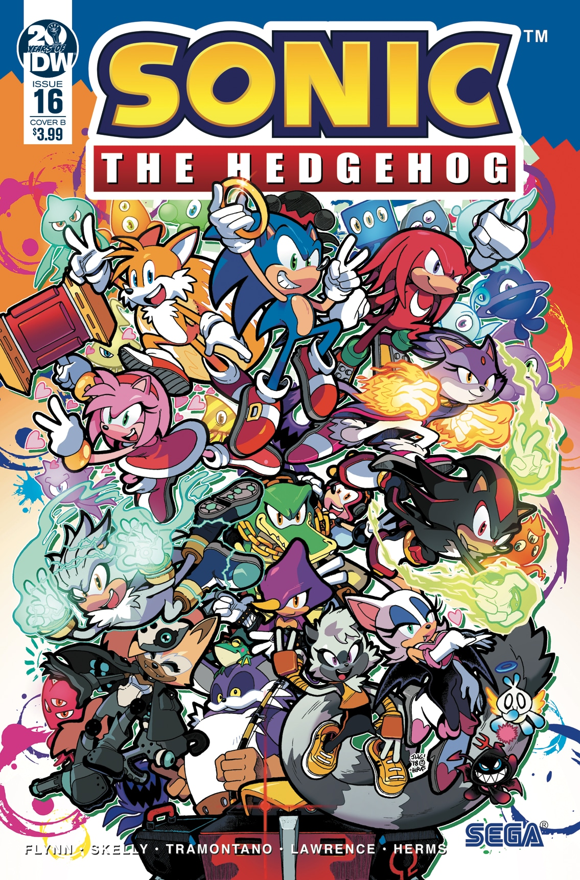 Idw Sonic The Hedgehog Issue 16 Sonic News Network Fandom