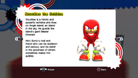 Knuckles profile SG