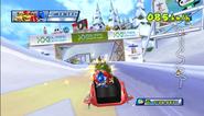 Mario Sonic Olympic Winter Games Gameplay 103