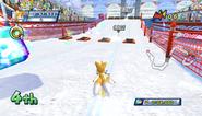 Mario Sonic Olympic Winter Games Gameplay 221