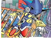 Mecha Sonic sent to destroy the FFs