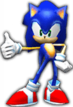 Sonic Rivals 2 - Sonic the Hedgehog model