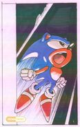 Sonic X-treme cover 1